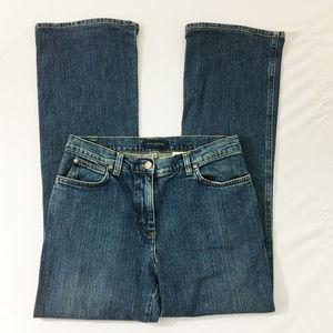 P7 Piazza Sempione High Waist Boot Denim Jeans